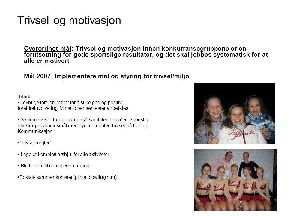 Trivsel og motivasjon