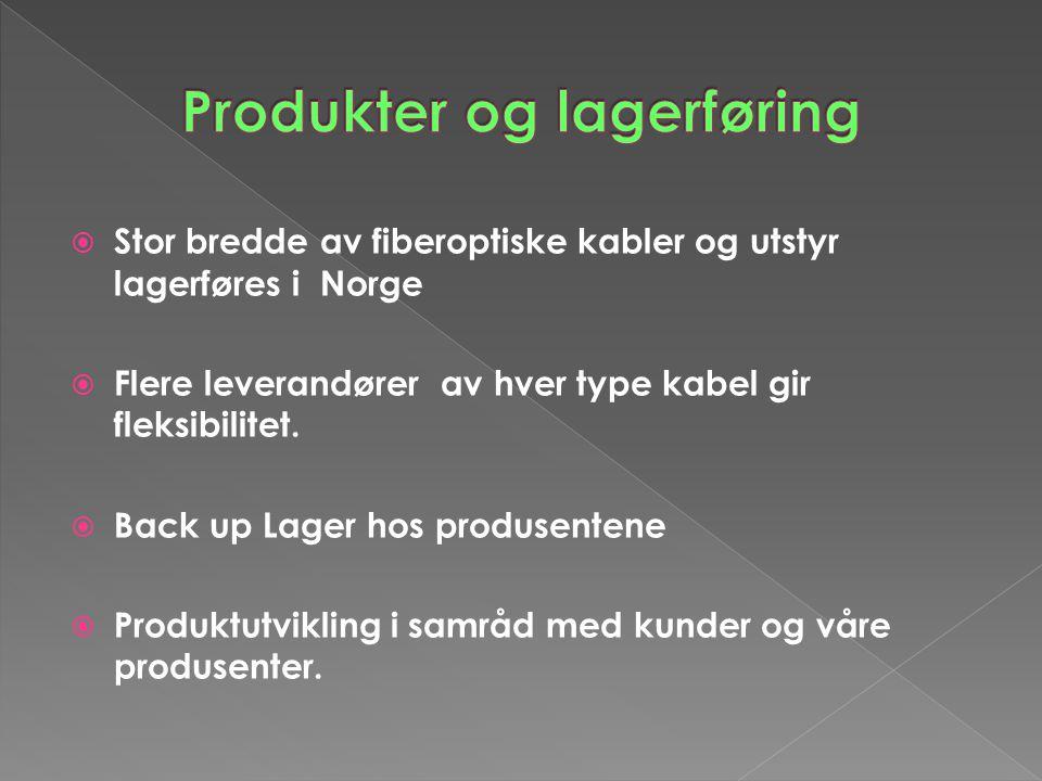Produkter og lagerføring