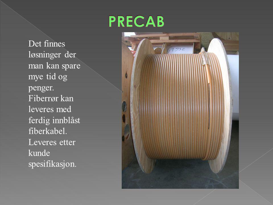 PRECAB Det finnes løsninger der man kan spare mye tid og penger.