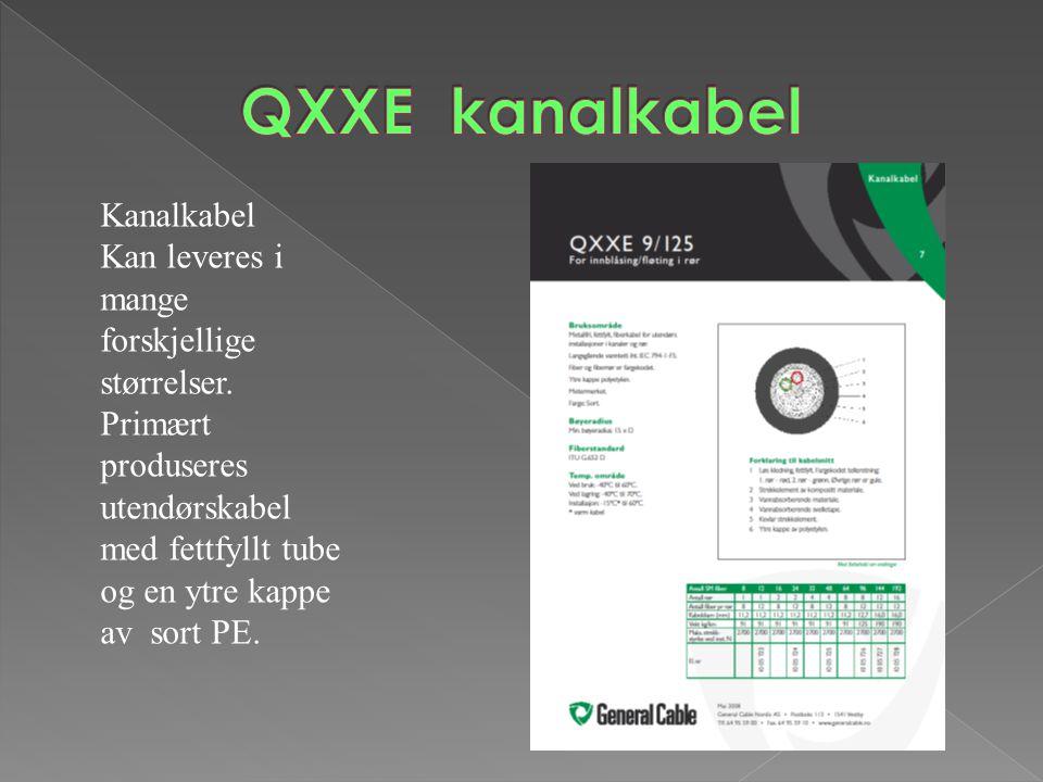 QXXE kanalkabel Kanalkabel