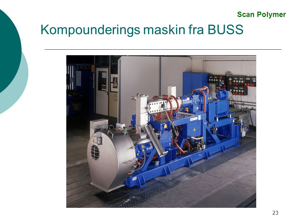 Kompounderings maskin fra BUSS