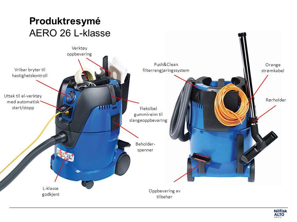 Produktresymé AERO 26 L-klasse