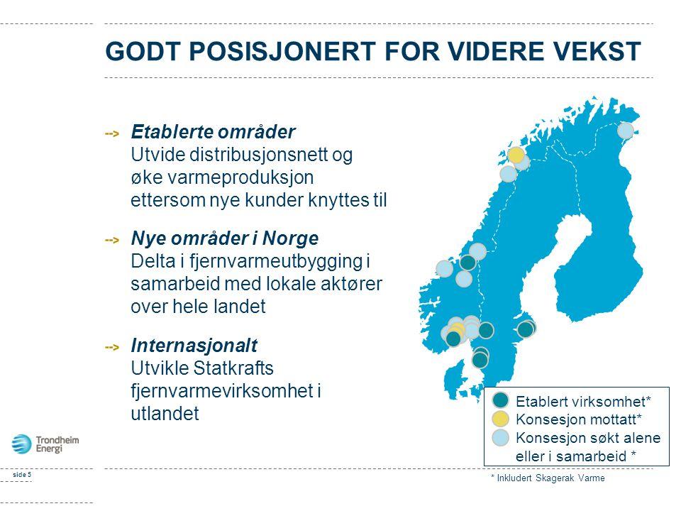 GODT POSISJONERT FOR VIDERE VEKST