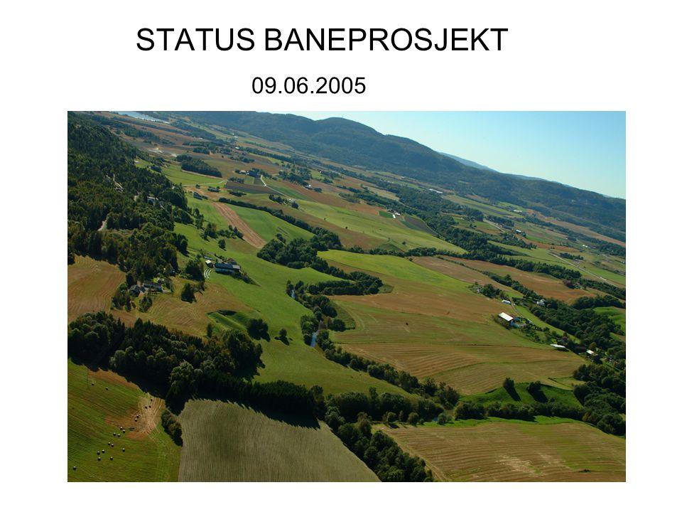 STATUS BANEPROSJEKT 09.06.2005