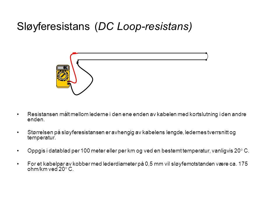 Sløyferesistans (DC Loop-resistans)
