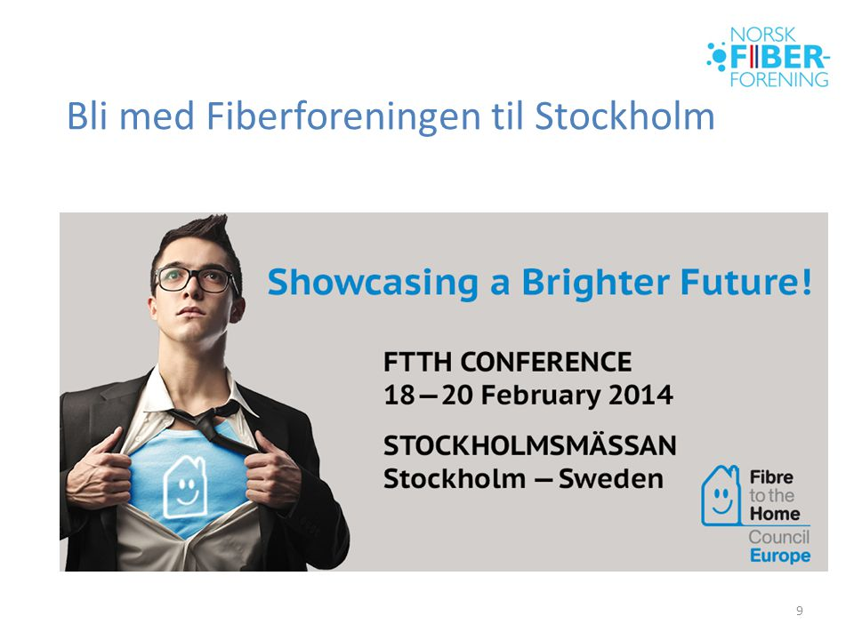 Bli med Fiberforeningen til Stockholm