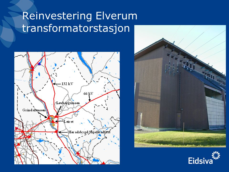 Reinvestering Elverum transformatorstasjon