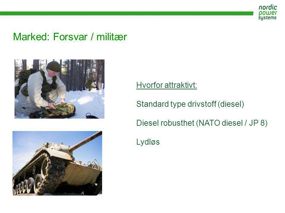 Marked: Forsvar / militær