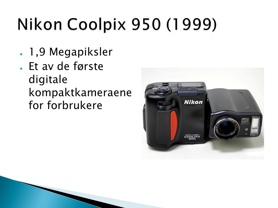 Nikon Coolpix 950 (1999) 1,9 Megapiksler