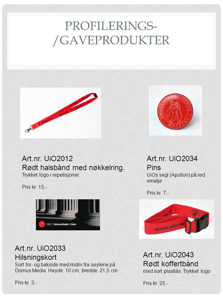 Profilerings-/Gaveprodukter