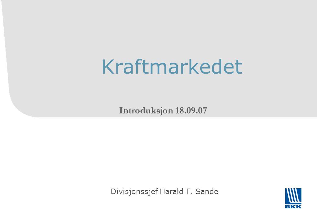 Divisjonssjef Harald F. Sande