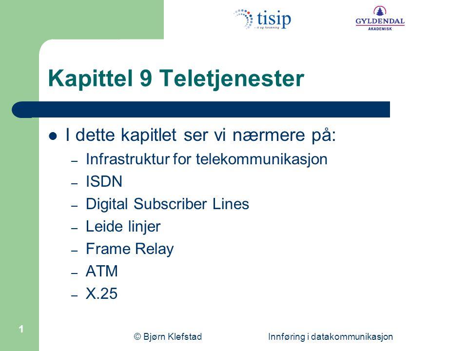 Kapittel 9 Teletjenester