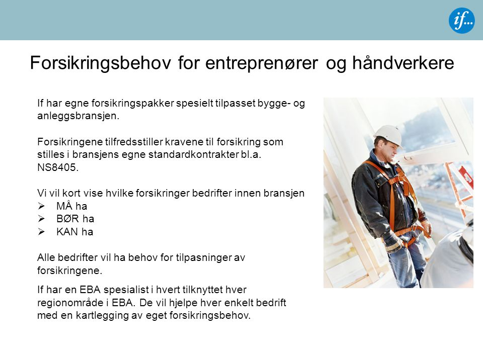Forsikringsbehov for entreprenører og håndverkere