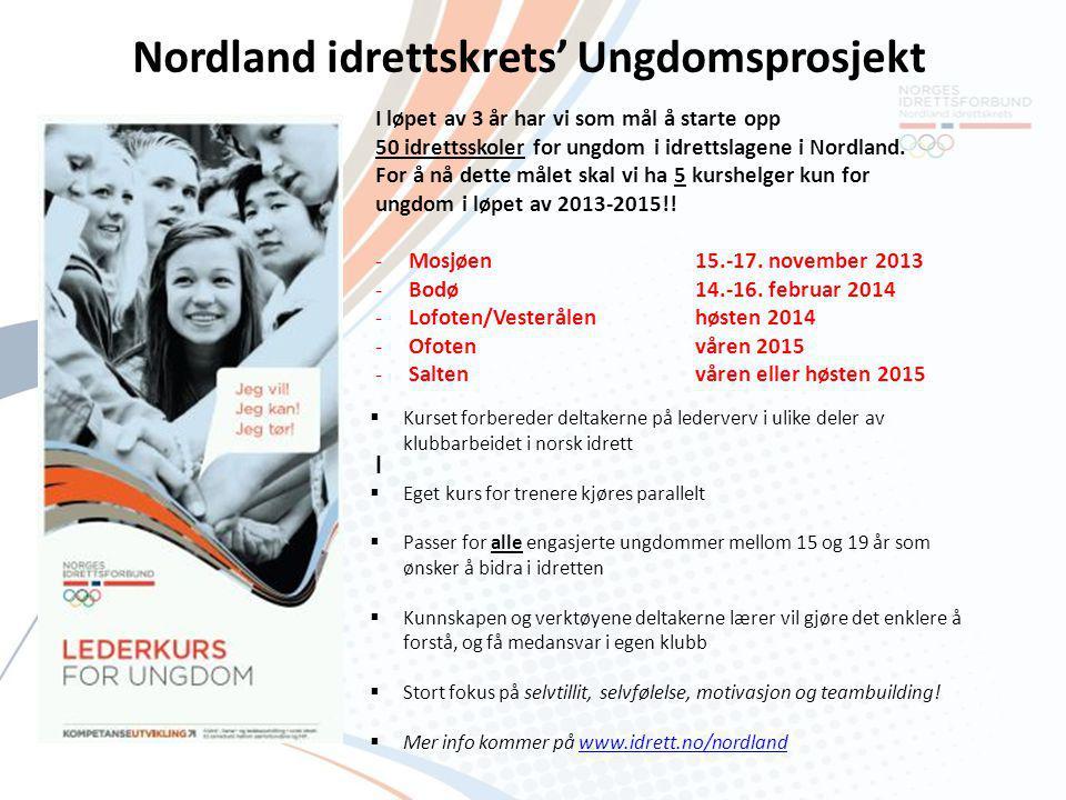 Nordland idrettskrets' Ungdomsprosjekt