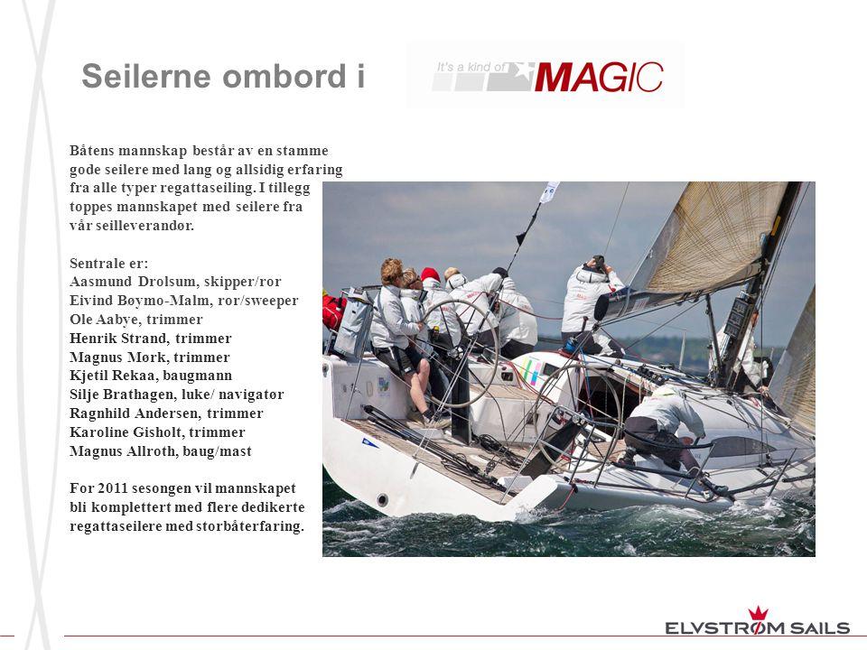 Seilerne ombord i Båtens mannskap består av en stamme gode seilere med lang og allsidig erfaring fra alle typer regattaseiling. I tillegg.