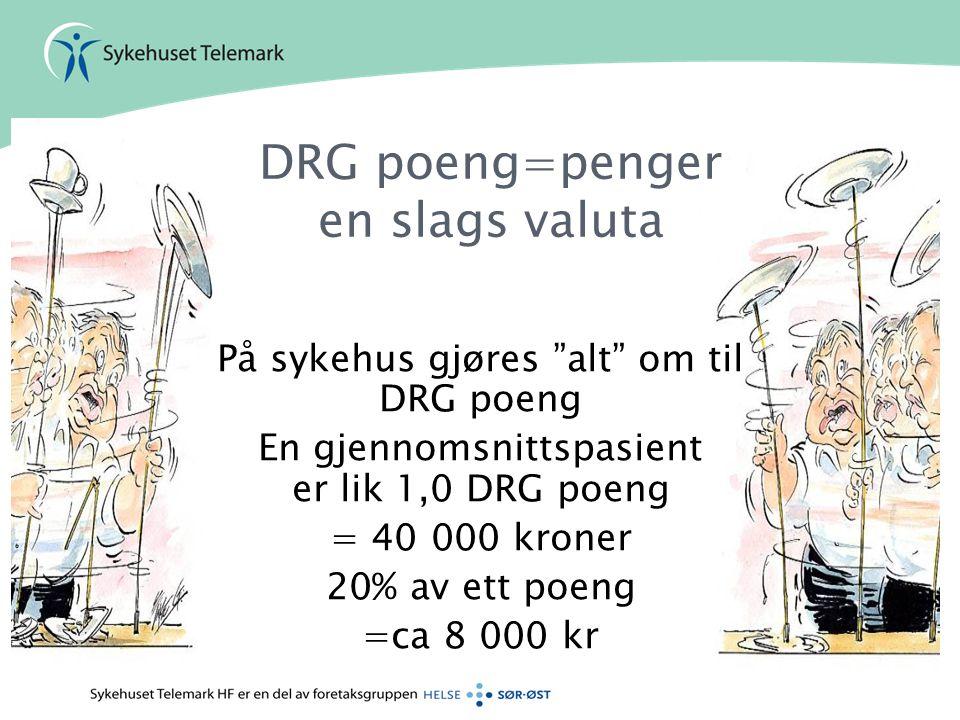 DRG poeng=penger en slags valuta