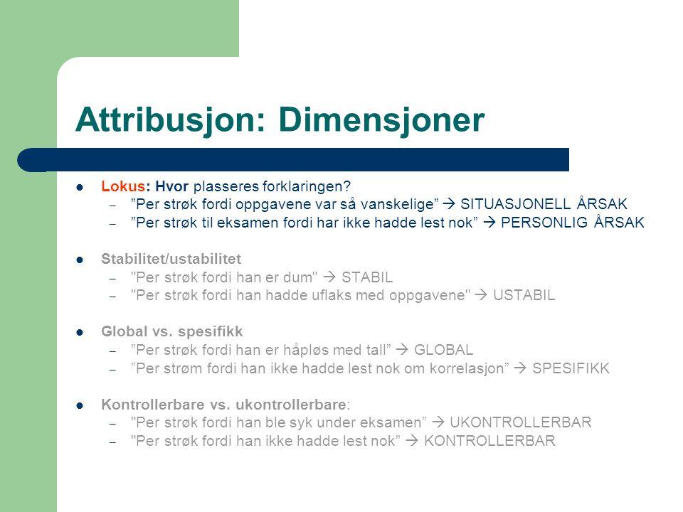 Attribusjon: Dimensjoner