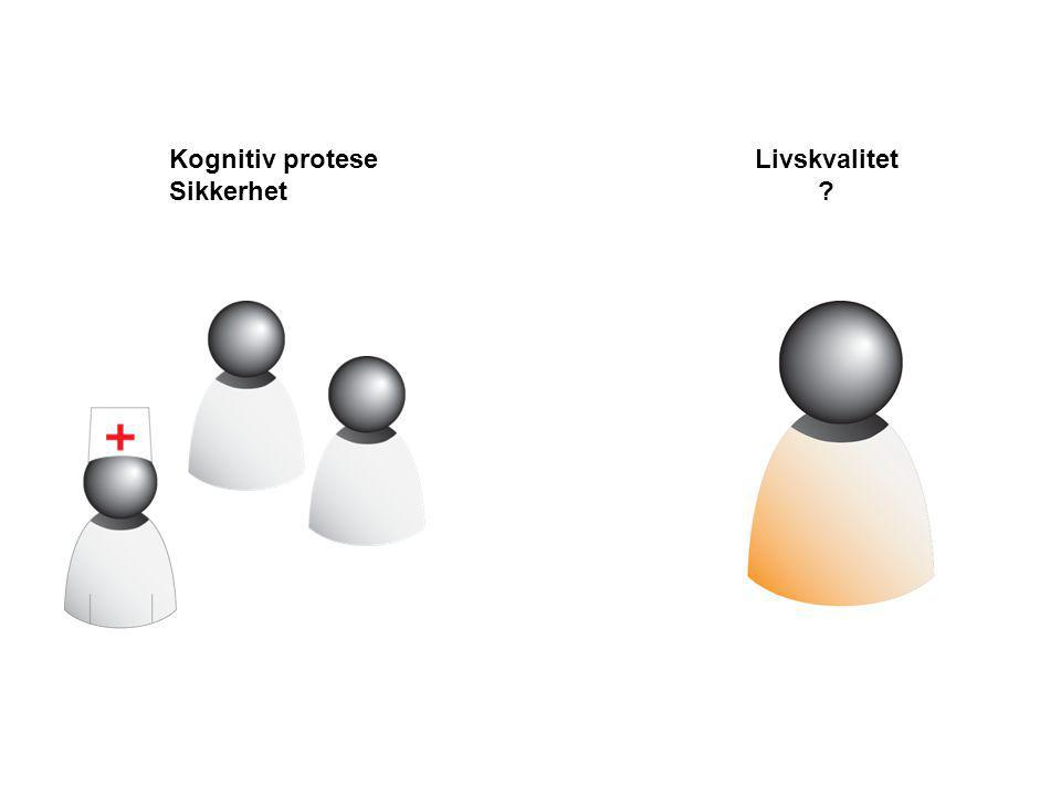 Kognitiv protese Sikkerhet Livskvalitet