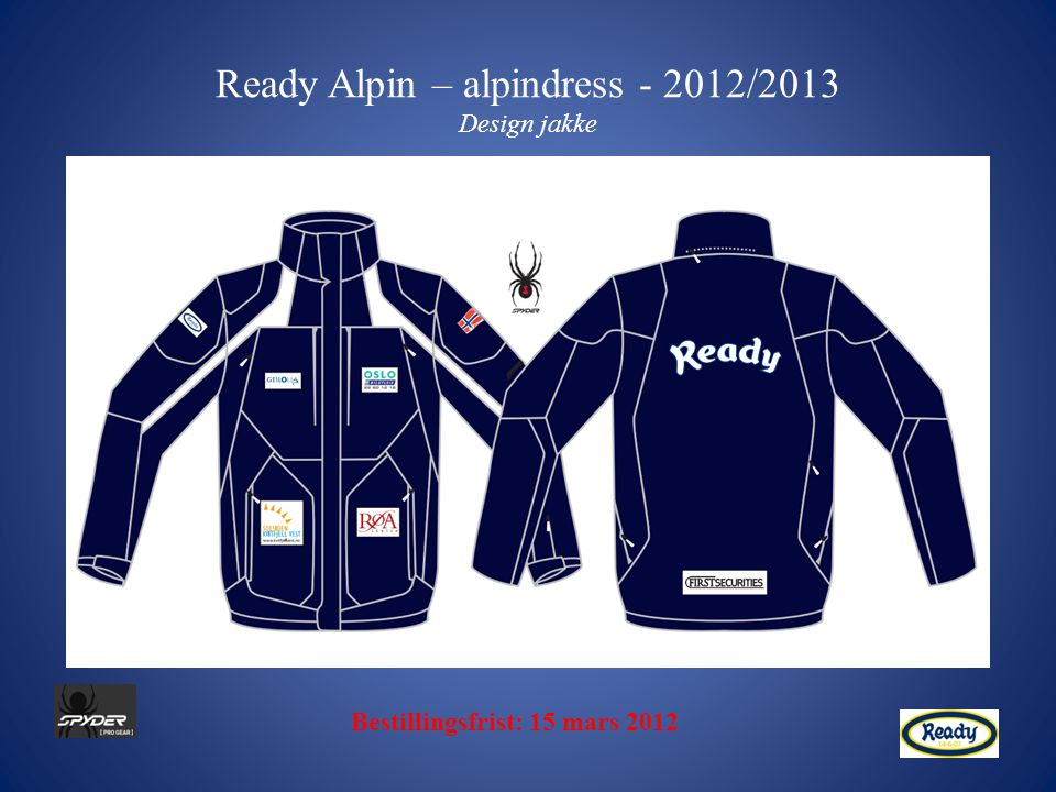 Ready Alpin – alpindress - 2012/2013 Design jakke
