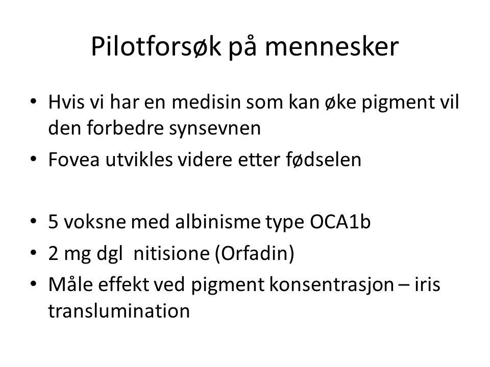 Pilotforsøk på mennesker