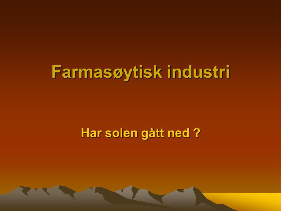 Farmasøytisk industri