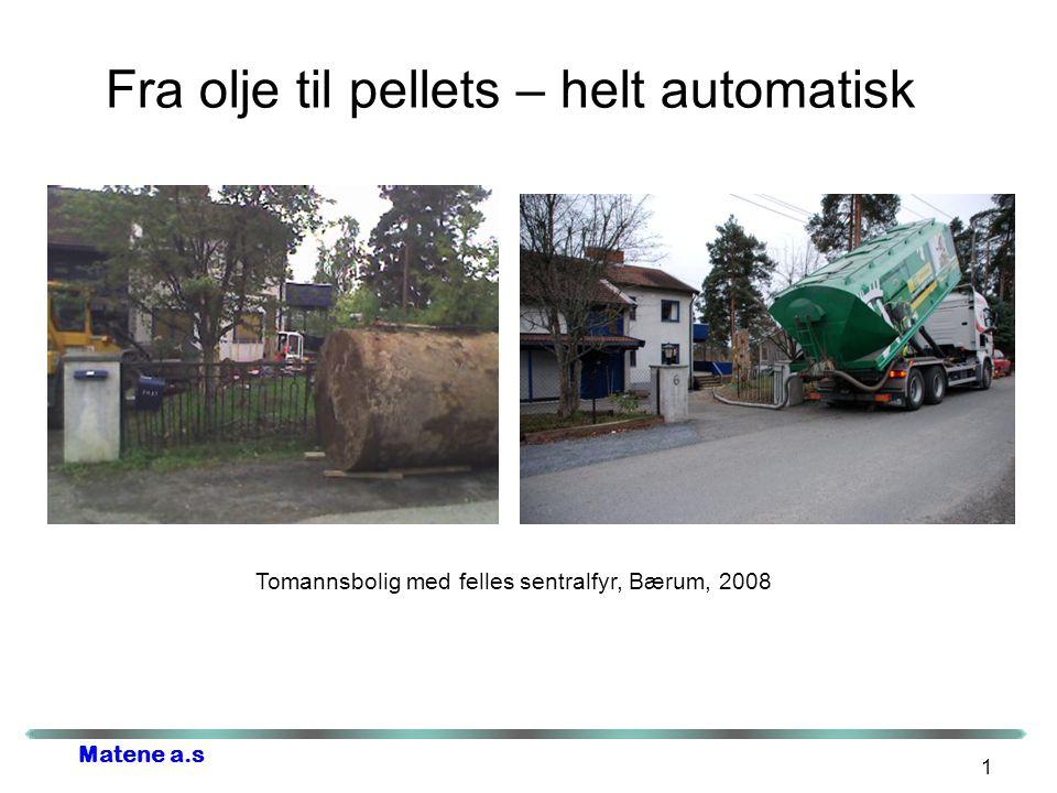 Fra olje til pellets – helt automatisk