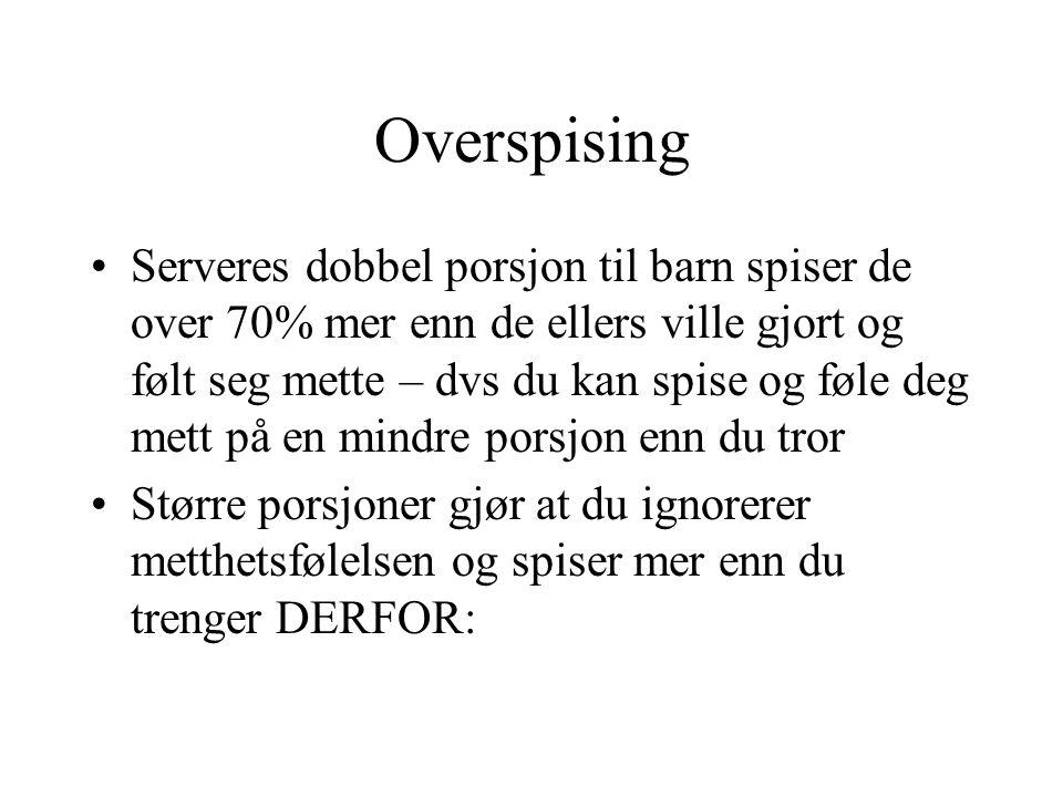 Overspising