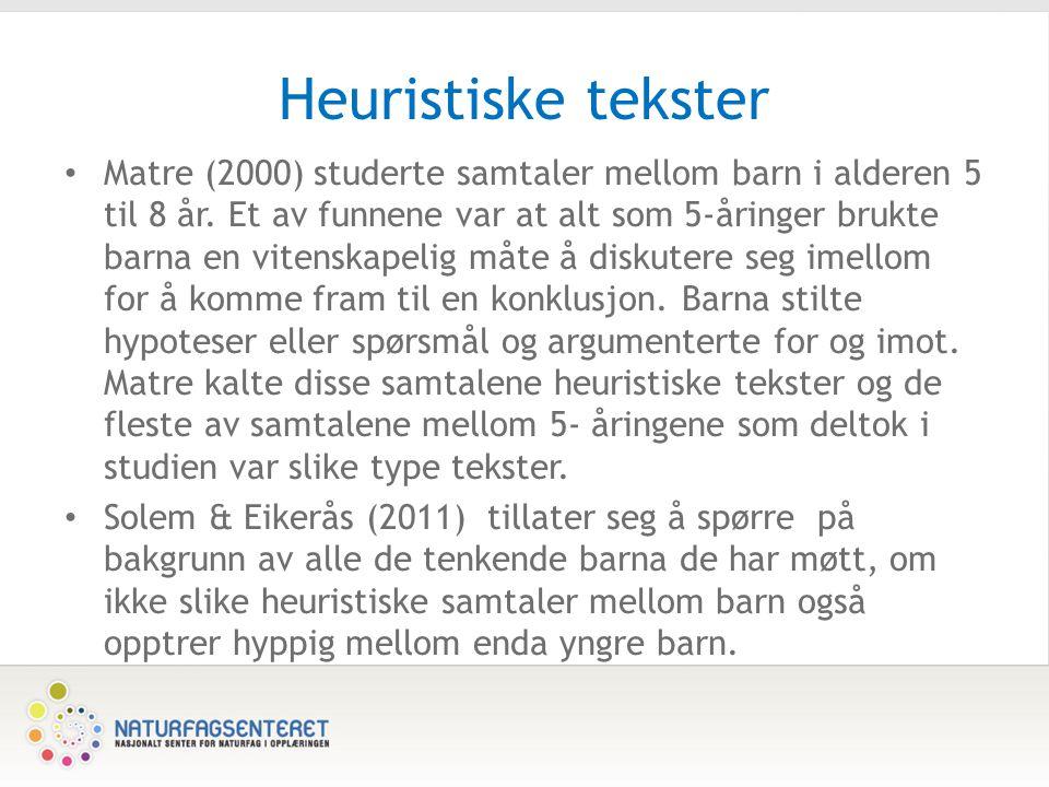 Heuristiske tekster