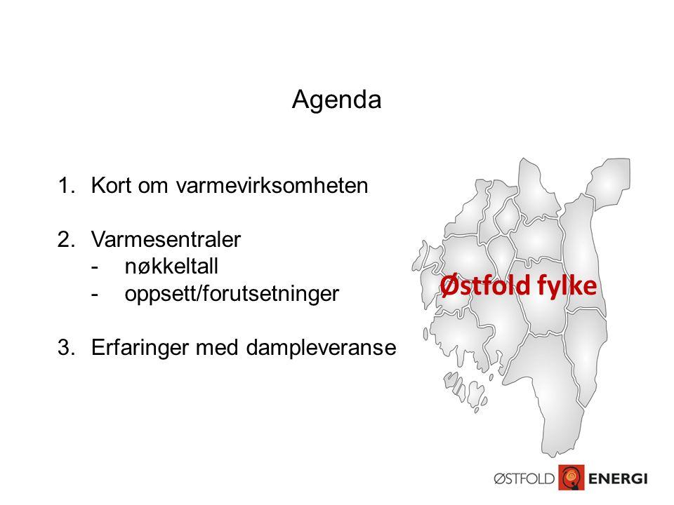 Østfold fylke Agenda Kort om varmevirksomheten Varmesentraler