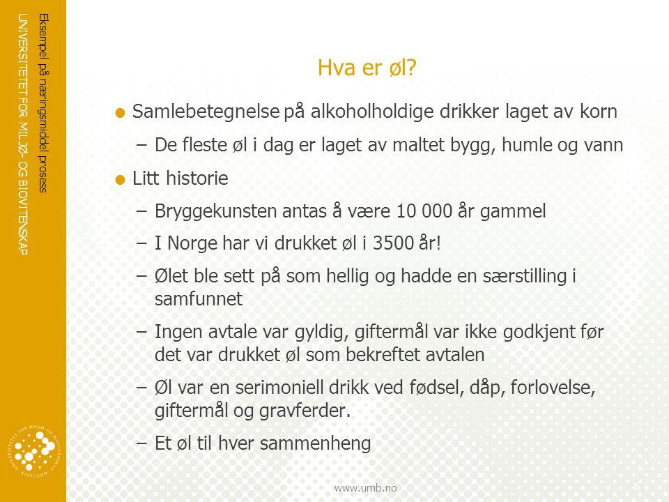 Hva er øl Samlebetegnelse på alkoholholdige drikker laget av korn