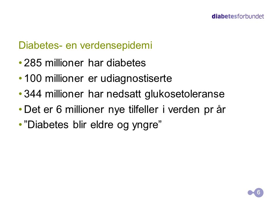 Diabetes- en verdensepidemi