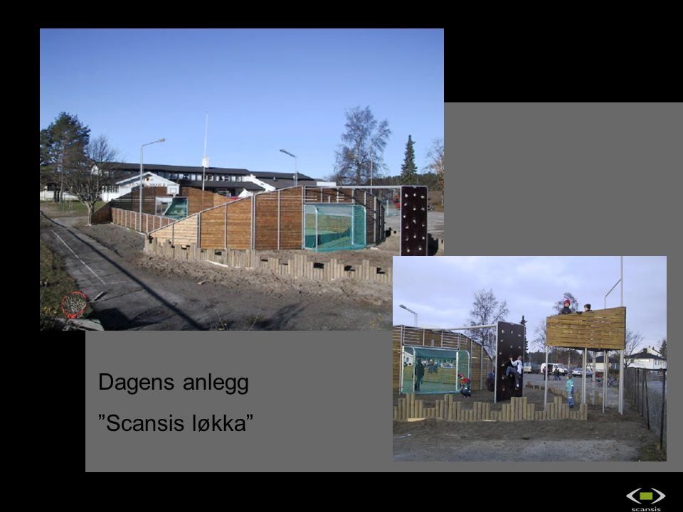 Dagens anlegg Scansis løkka OS2 IndustriDesign as