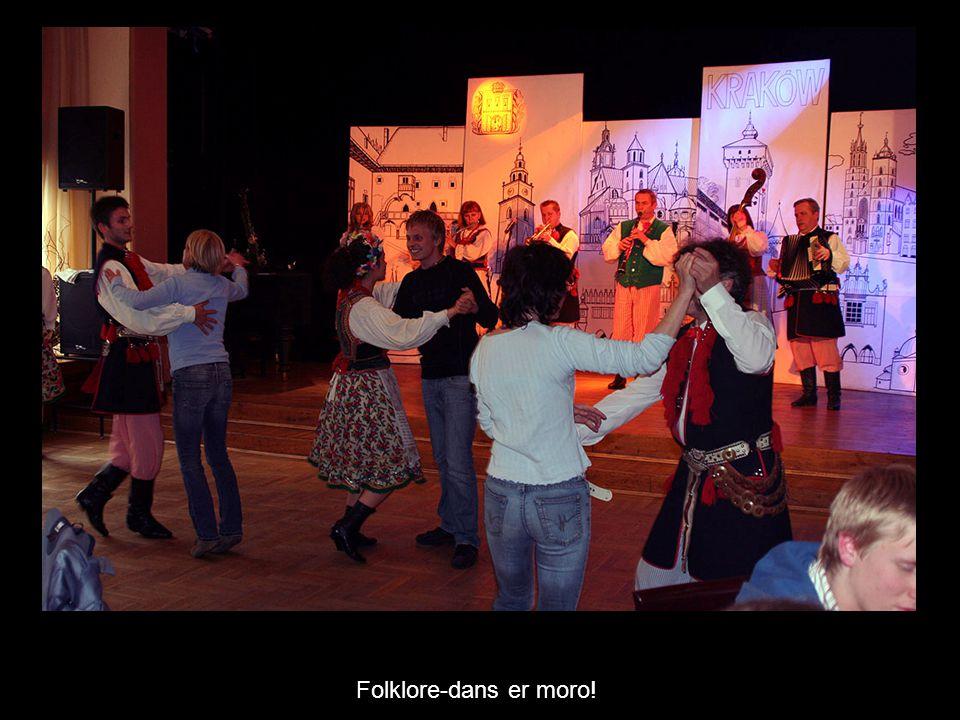 Folklore-dans er moro!