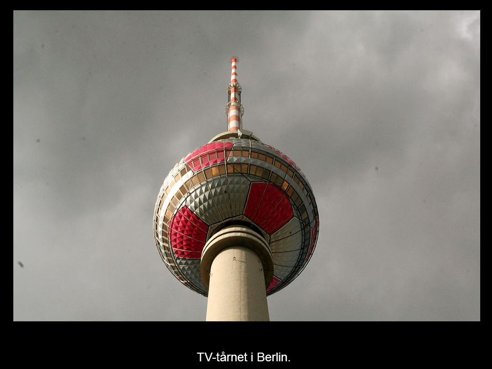 TV-tårnet i Berlin.