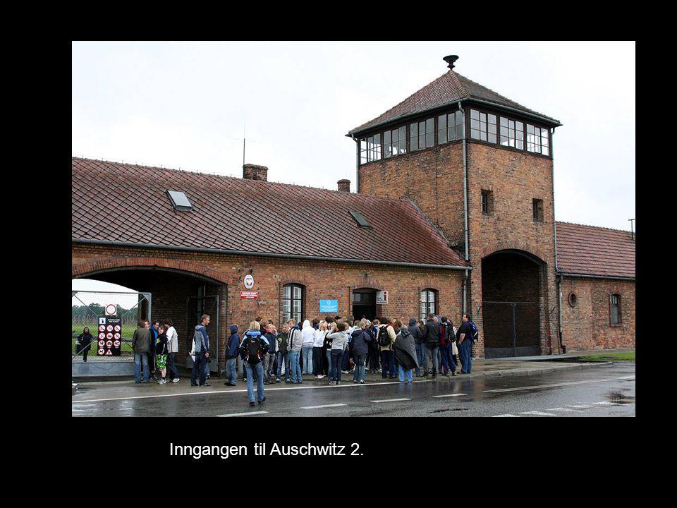 Inngangen til Auschwitz 2.