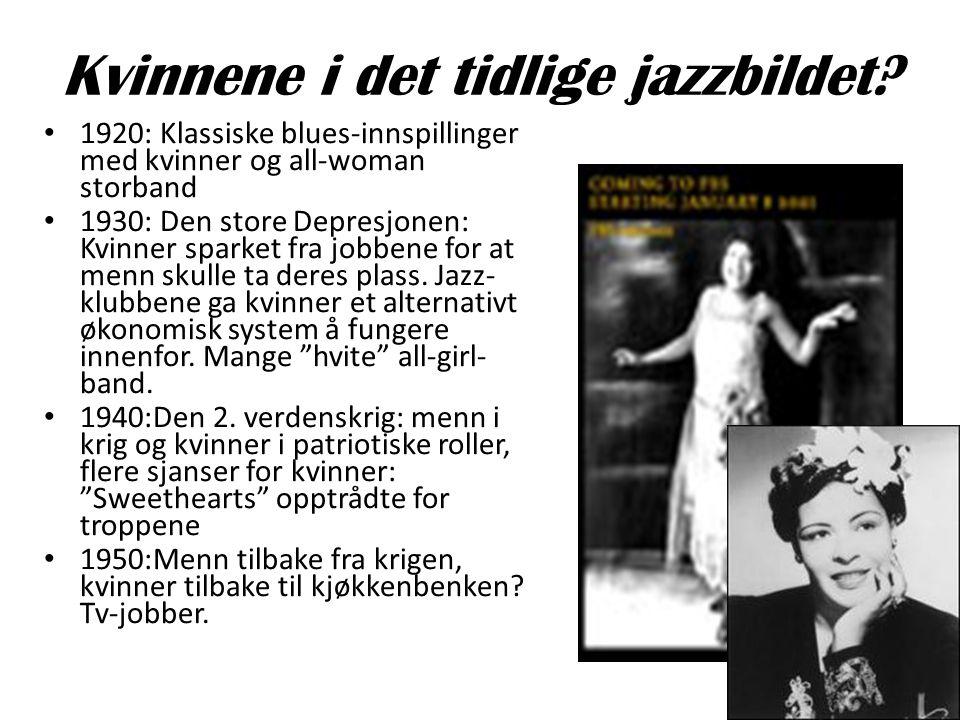 Kvinnene i det tidlige jazzbildet
