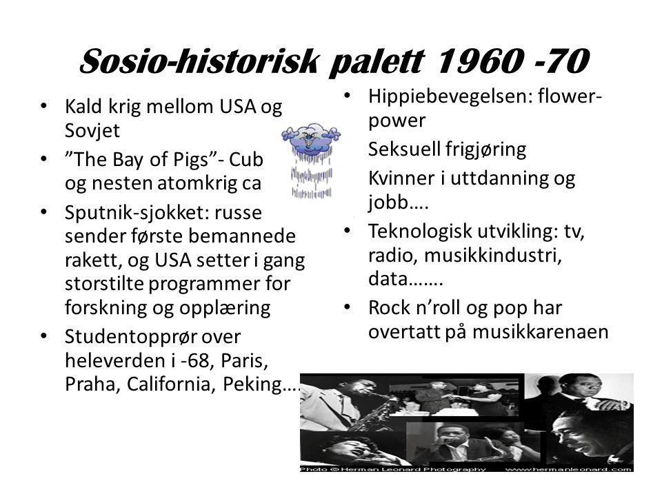 Sosio-historisk palett 1960 -70