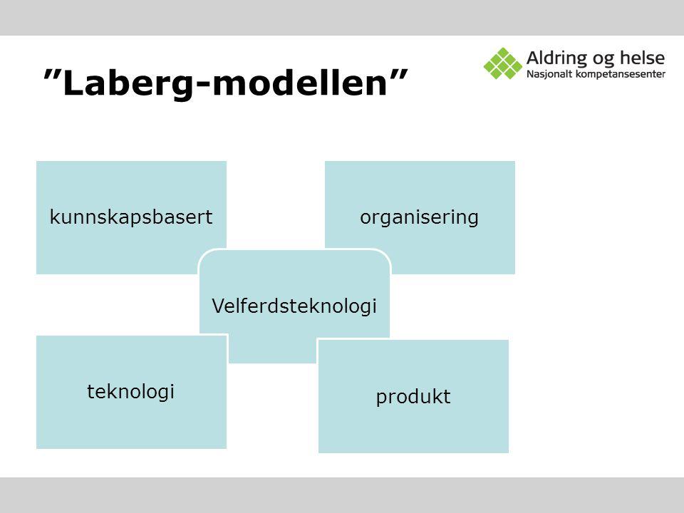 Laberg-modellen kunnskapsbasert organisering Velferdsteknologi