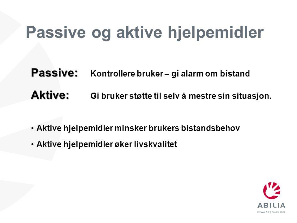 Passive og aktive hjelpemidler