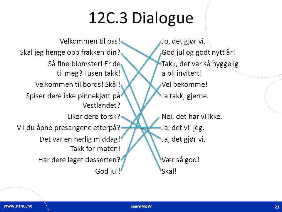 12C.3 Dialogue