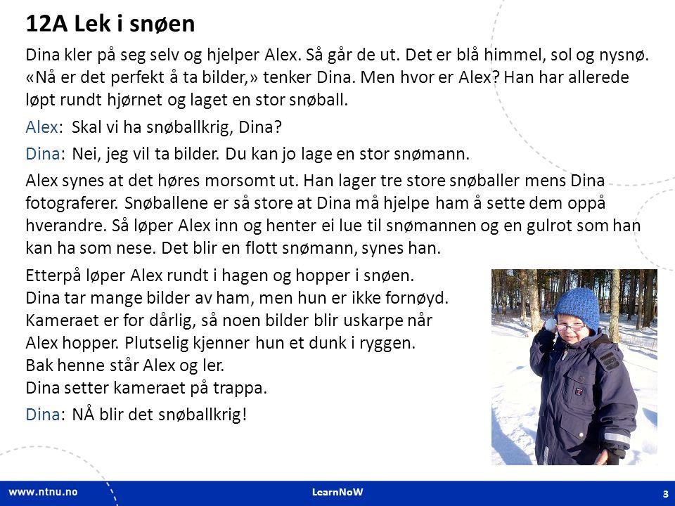 12A Lek i snøen 12A Lek i snøen