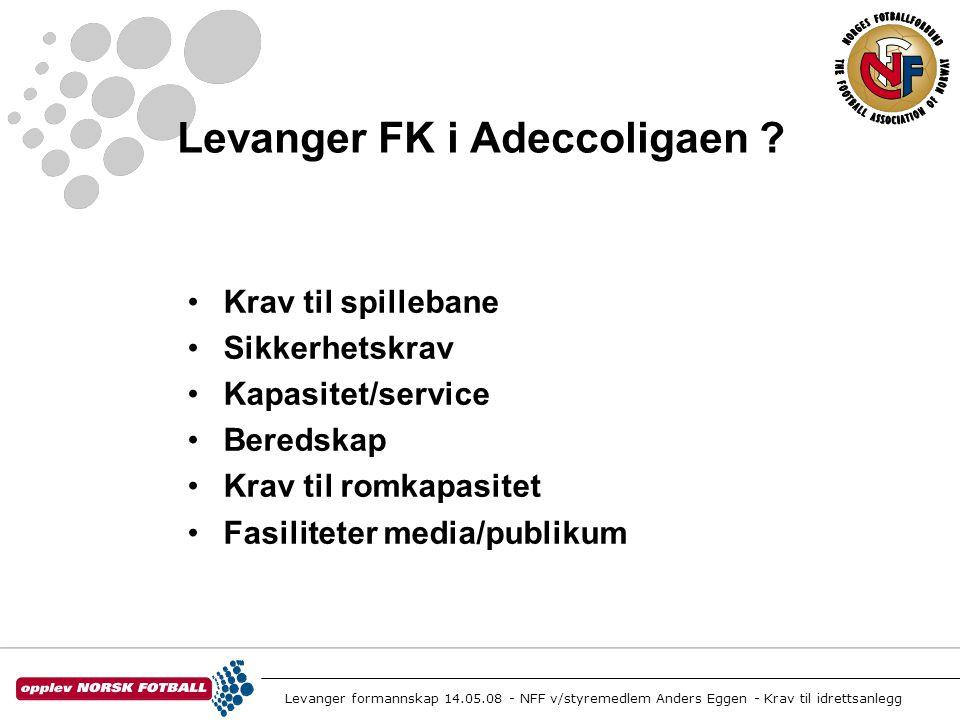 Levanger FK i Adeccoligaen