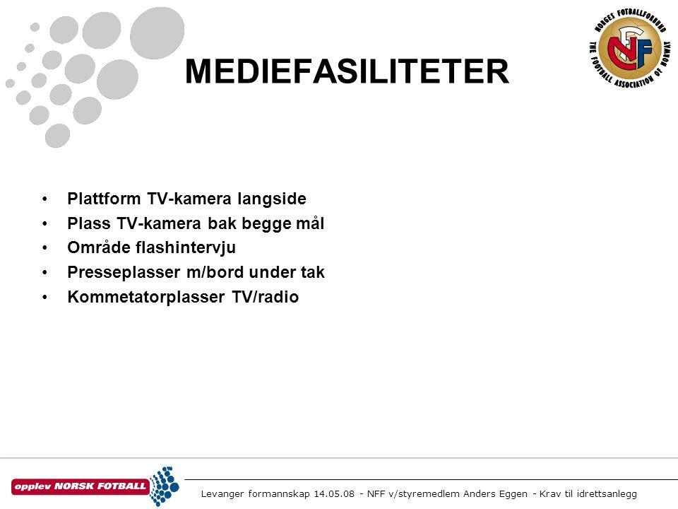 MEDIEFASILITETER Plattform TV-kamera langside