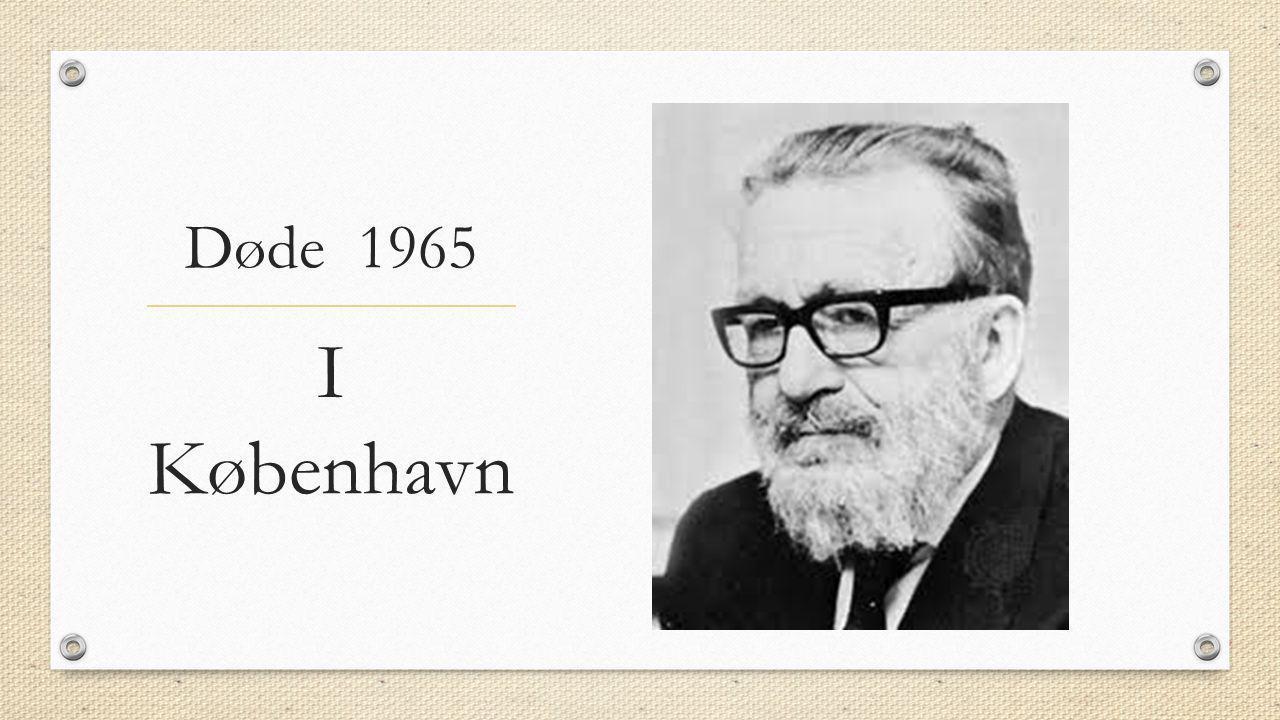 Døde 1965 I København