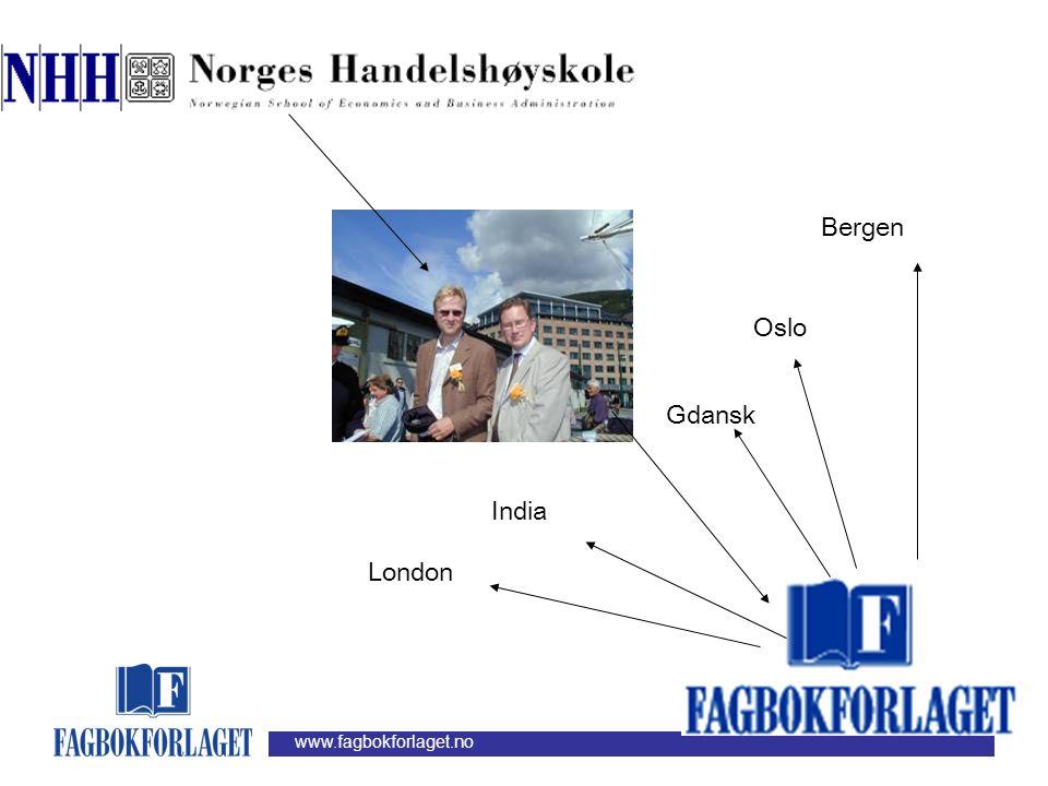Bergen Oslo Gdansk India London
