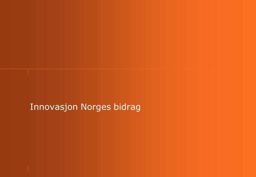 Innovasjon Norges bidrag