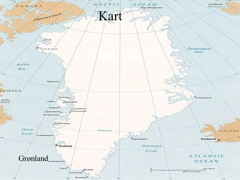kart Kart Grønland