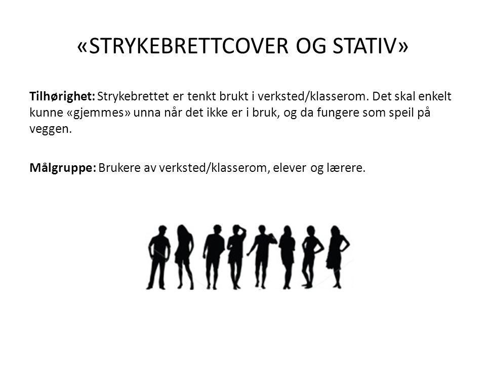 «STRYKEBRETTCOVER OG STATIV»