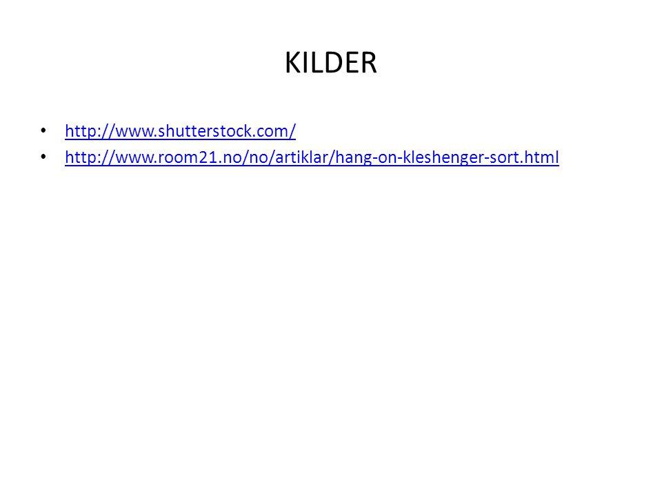KILDER http://www.shutterstock.com/