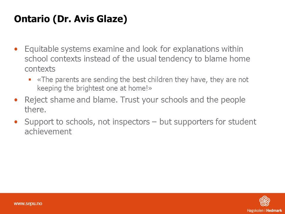 Ontario (Dr. Avis Glaze)